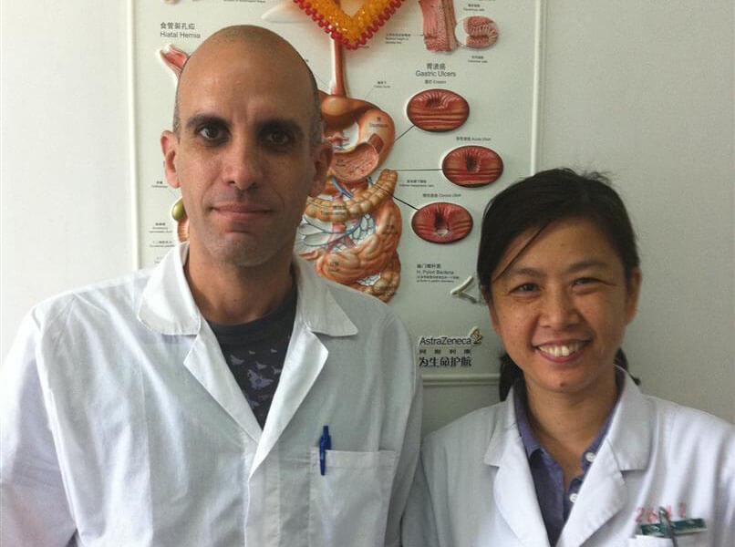 התמחות דיקור סיני פוריות בסין ביג'ין
