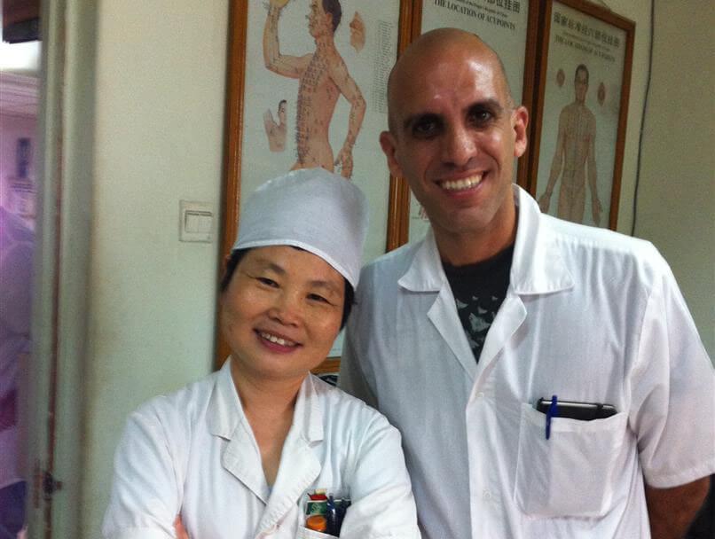 התמחות דיקור סיני פוריות בבית חולים בסין