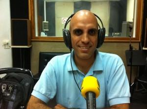 קובי זהבי מתארח בתוכנית רדיו עם ריק הראל